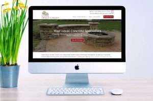 Custom Design Concrete Website
